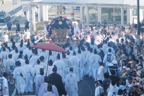 「平成29年9月18日還幸祭」神輿渡御 (35)
