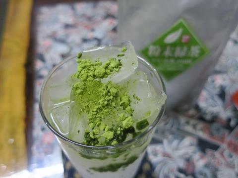 「粉末緑茶を買ってみました!」⓪