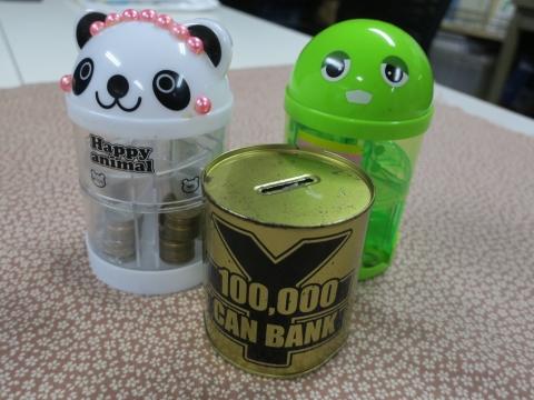 「10万円が貯まる缶カンを開けてみた!」①
