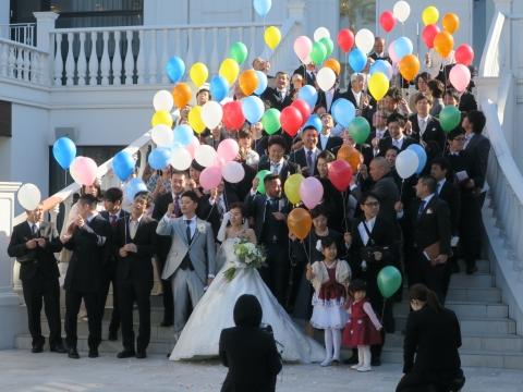 「菊地貴宏&裕子」結婚式①