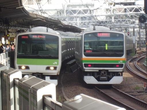 五反田駅にて
