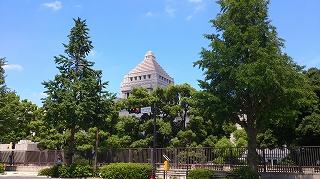 2017711国会議事堂