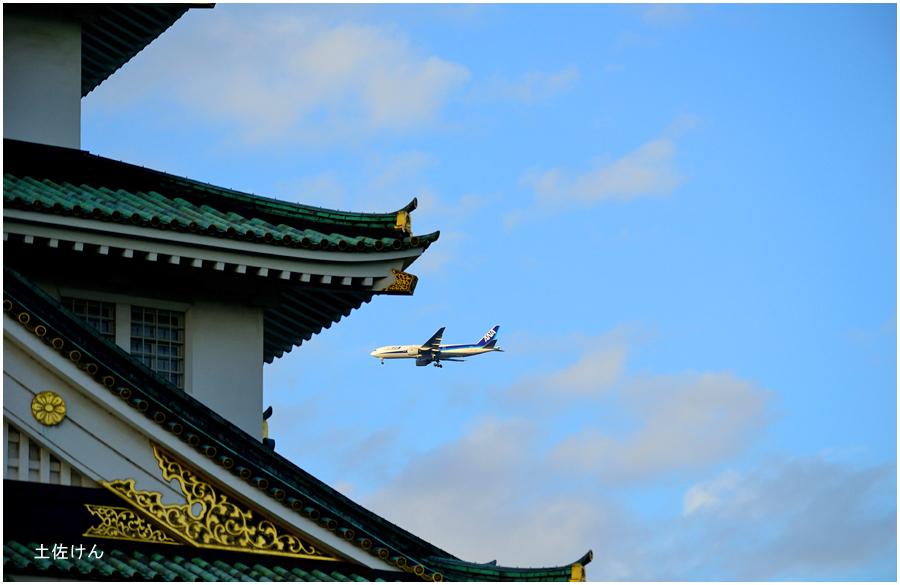 大阪城公園・飛行機3