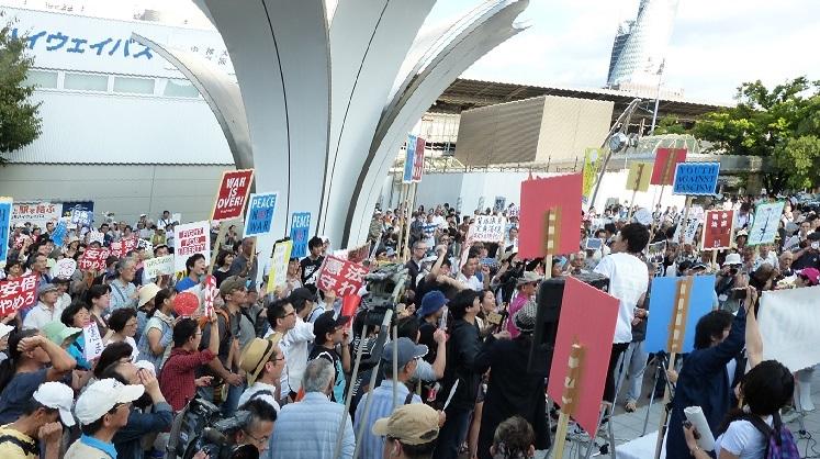 2015年9月 名古屋市駅前