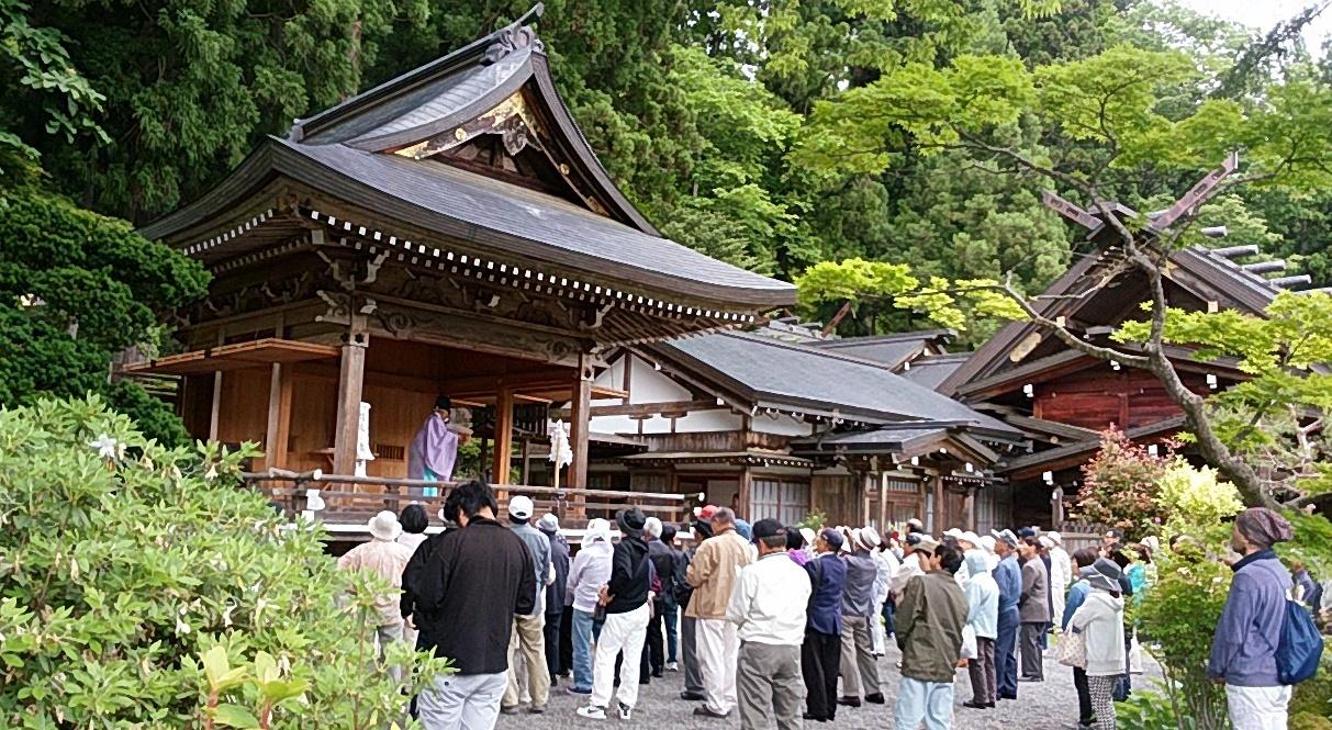 大山衹神社神楽