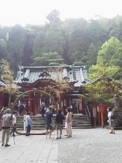 箱根神社(夏越しの払い前日)