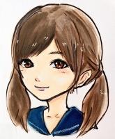 岸田メル少女