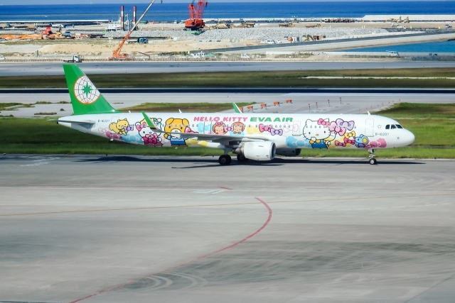 EVA Air Kitty 767