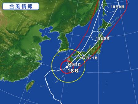2017 0917 台風