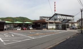 13:23 竹原駅のバス乗り場