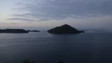 5:05 部屋からの眺め(日の出前)