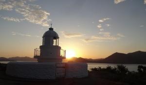 5:31 中ノ鼻灯台からの眺め