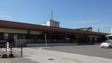 9:36 JR竹原駅 到着