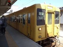 9:42 この列車で三原駅に向かいます。