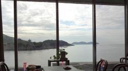 7:00 食事会場の窓からの眺め