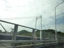 8:46 新尾道大橋から見た尾道大橋
