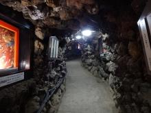 9:31 千仏洞地獄峡の中