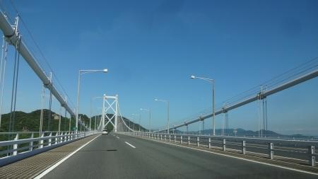 14:24 因島大橋にて