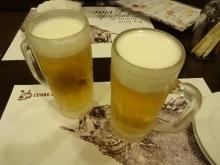 18:53 ビール 600円×2