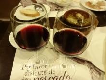 19:14 グラスワイン赤 400円×2