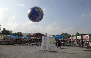16:24 旧広島市民球場跡地では、世界のビールとグルメスタジアム開催中
