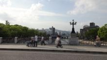 17:00 元安橋から見た原爆ドーム