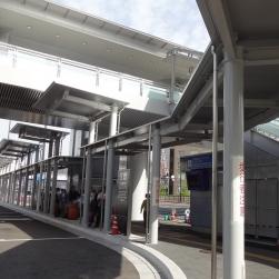 8:15 広島空港へのリムジンバス乗り場