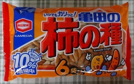 亀田の柿の種 6袋詰(220g) 199円
