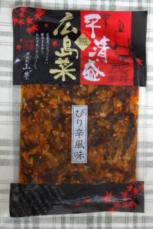 平清盛 広島菜 ぴり辛風味 120g 254円