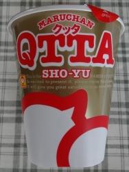 MARUCHAN QTTA SHO-YUラーメン