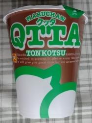 MARUCHAN QTTA TONKOTSUラーメン
