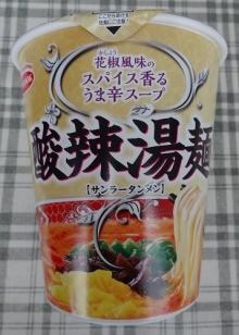 酸辣湯麺 100円