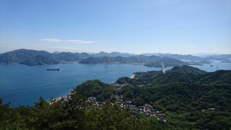 14:42 高見山から見た眺め