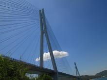 11:45 多々羅大橋・・・向こうは大三島