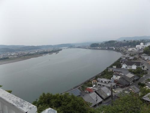 天守閣からの風景 海側