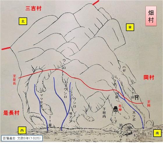畑・古地図完成画