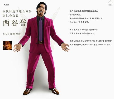 モデル マキムラ マコト 龍が如く0 マキムラマコトのモデルは橋本愛