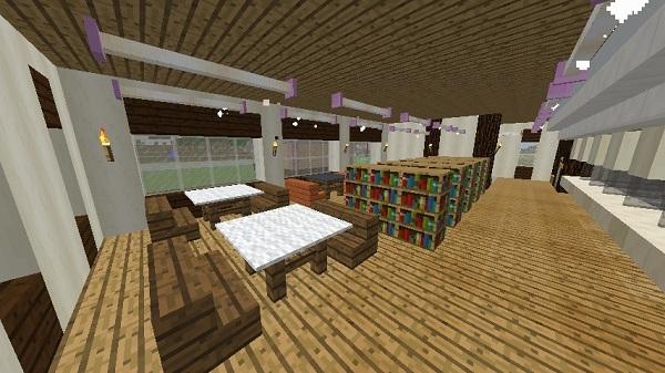 600.337、図書館1階、奥から