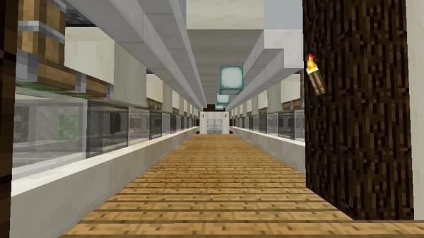 600.337、図書館2階、階段付近から