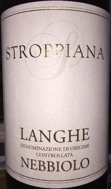 Langhe Nebbiolo Stroppiana 2014
