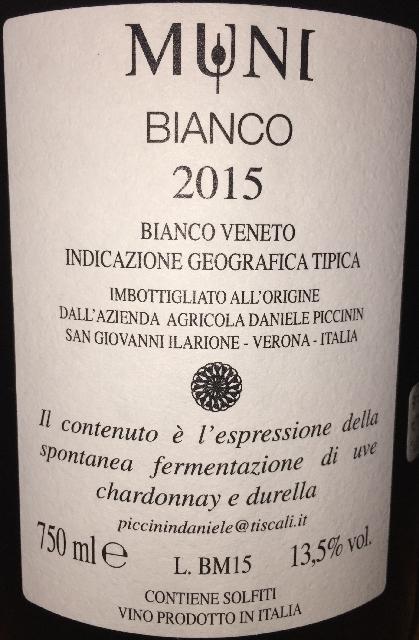 Muni Bianco Daniele Piccinin 2015 part2