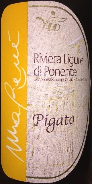 Riviera Ligure di Ponente Pigato MaRene bioVio 2015 part1