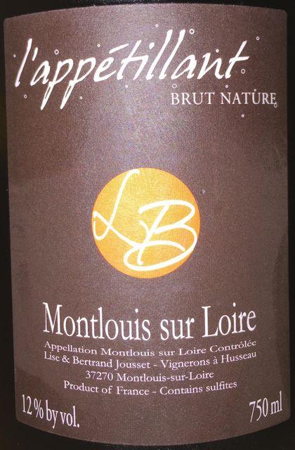 lappetilland Brut Nature Montlouis sur Loire