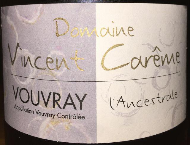 lancestrale Vouvray Domaine Vincent Careme