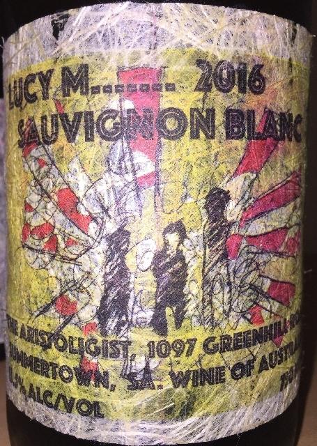 Lucy M Sauvignon Blanc 2016