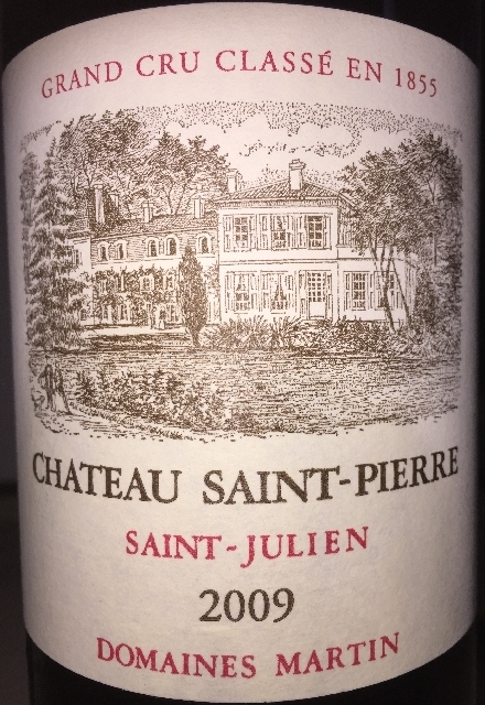 Chateau Saint Pierre Saint Julien 2009