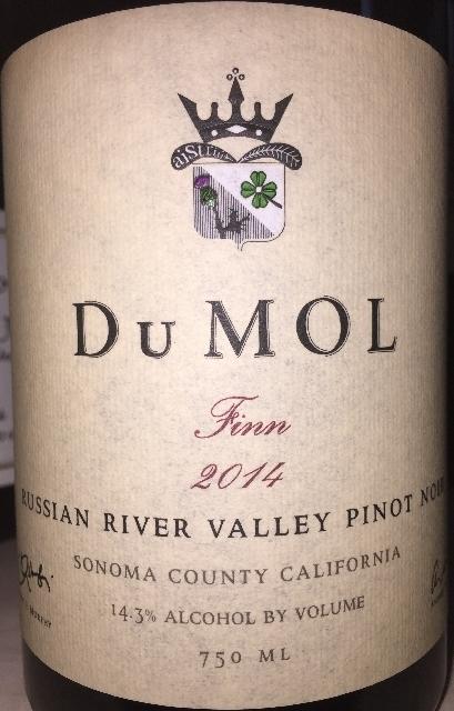Dumol Finn Russian River Valley Pinot Noir 2014