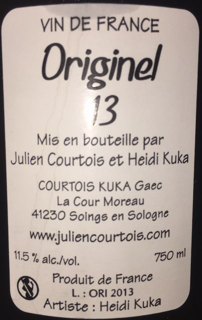 Originel 13 Julien Courtois et Heidi Kuka 2013