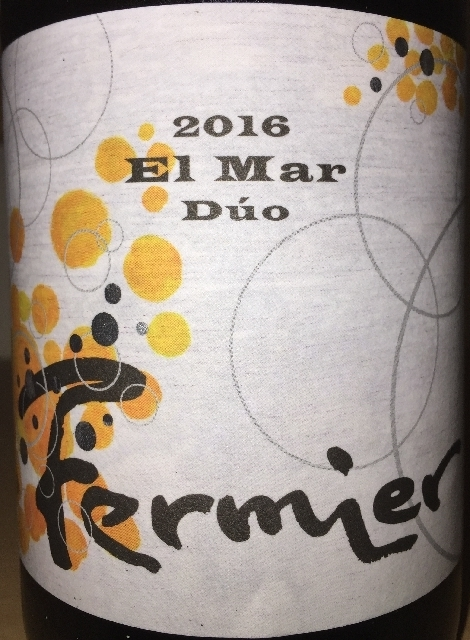 Fermier El Mar Duo Albarino Chardonnay 2016 part1