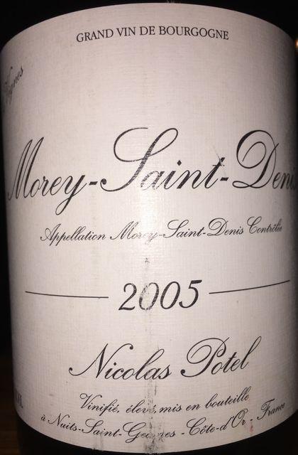 Morey Saint Denis VV Nicolas Potel 2005